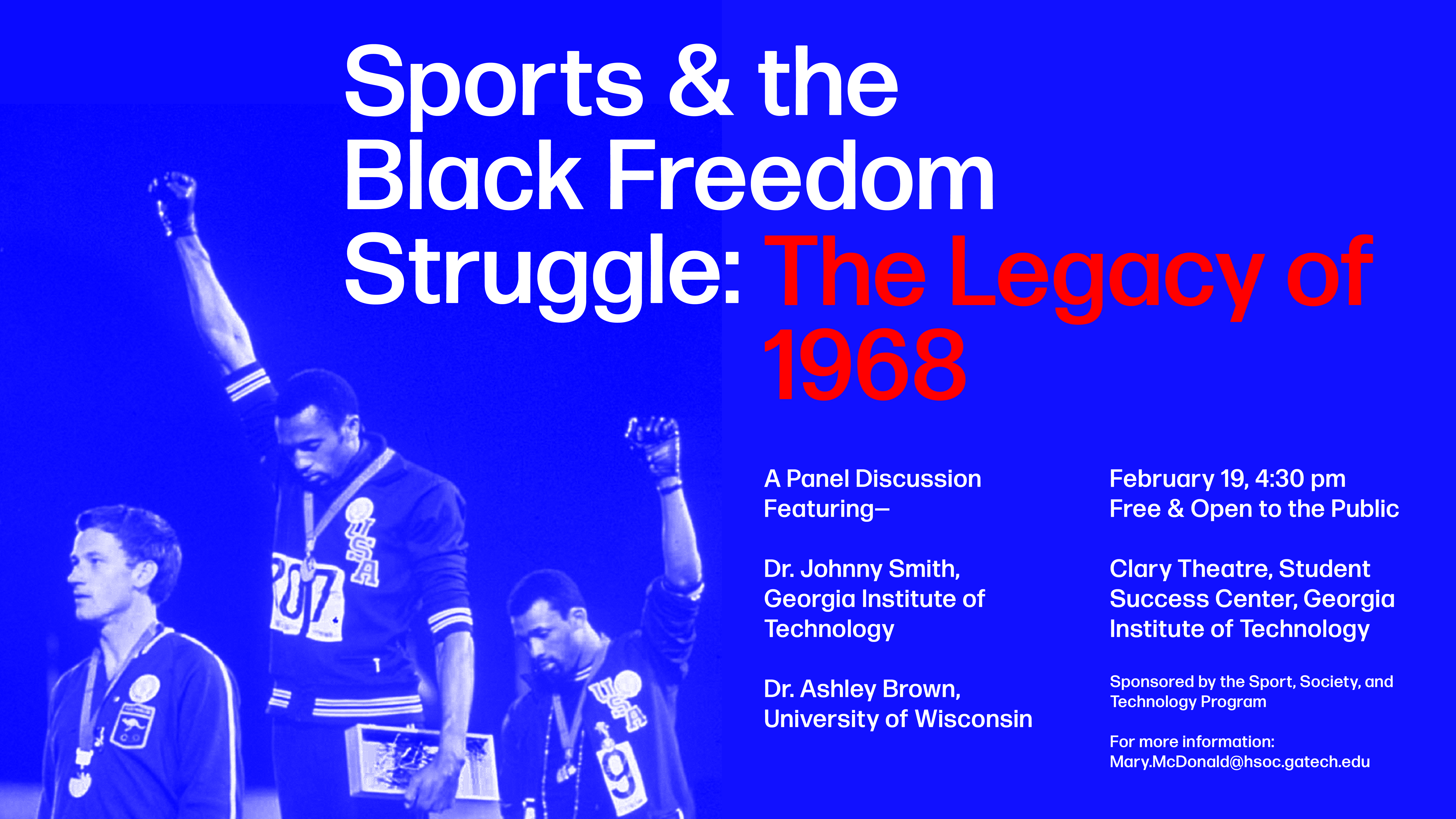 Sports and the Black Freedom Struggle Event