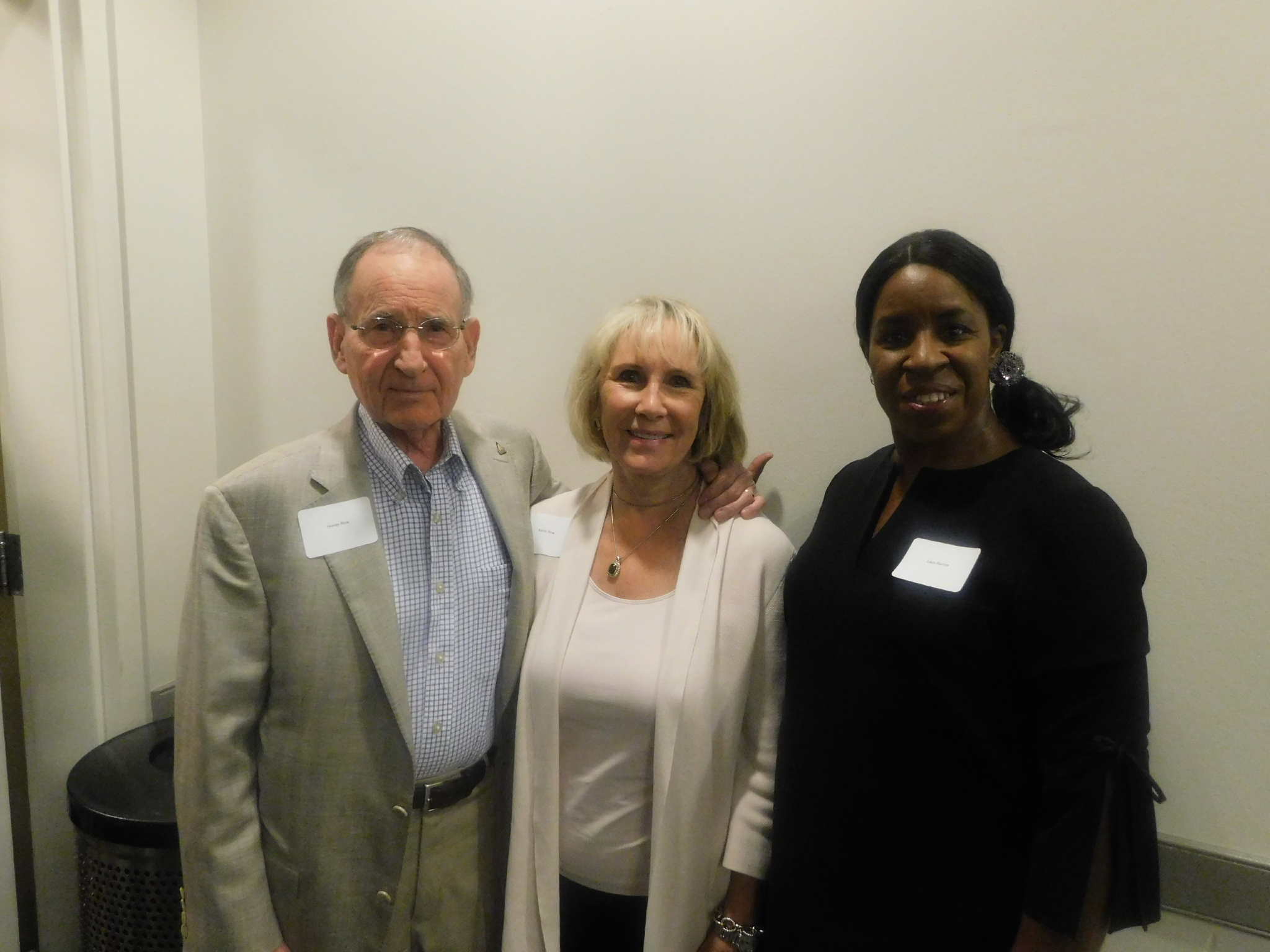 Olympic Pride, American Prejudice Screening - Lacy Barnes with Homer & Karen Rice
