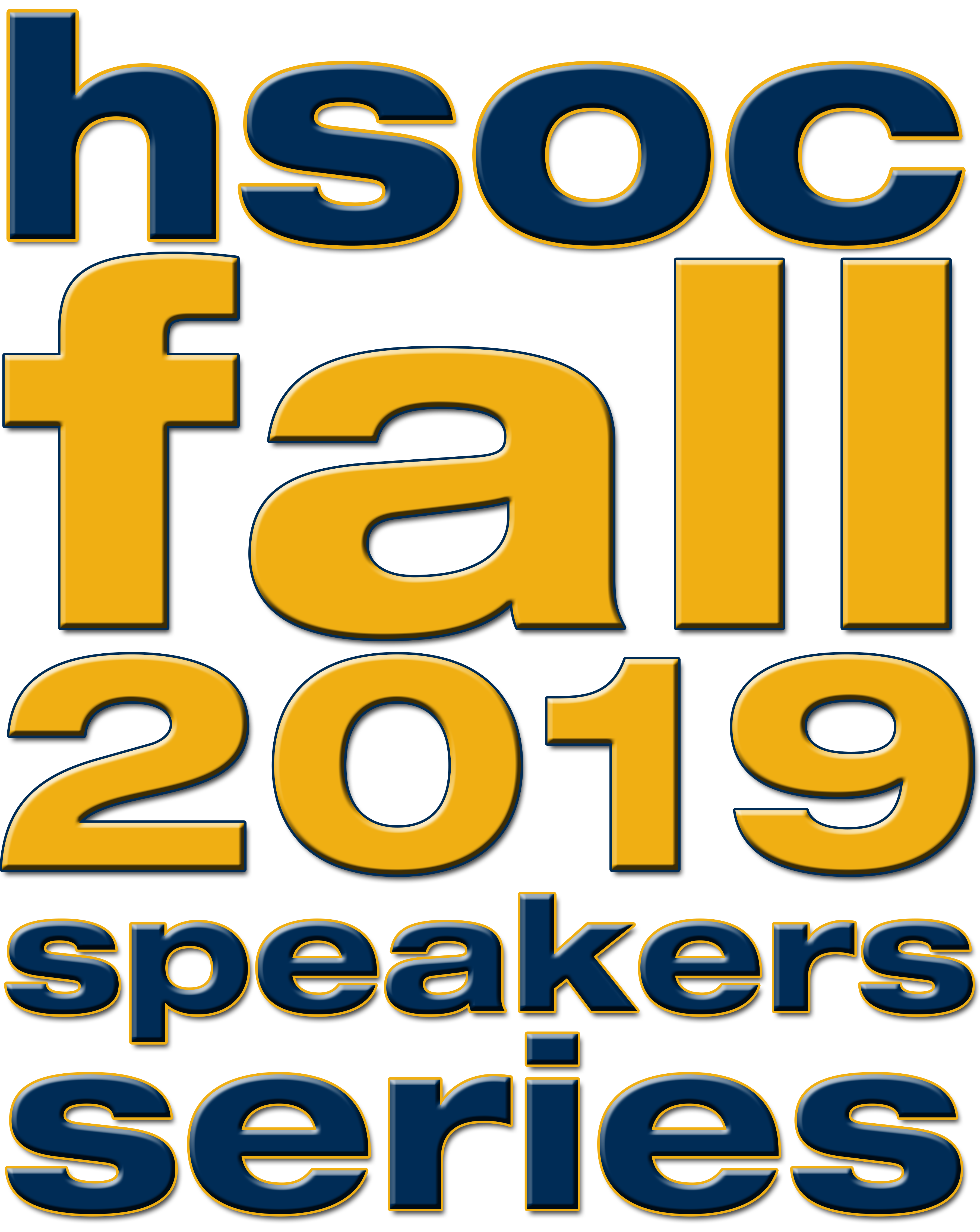 Logo for the fall 2019 School of History and Sociology speakers series