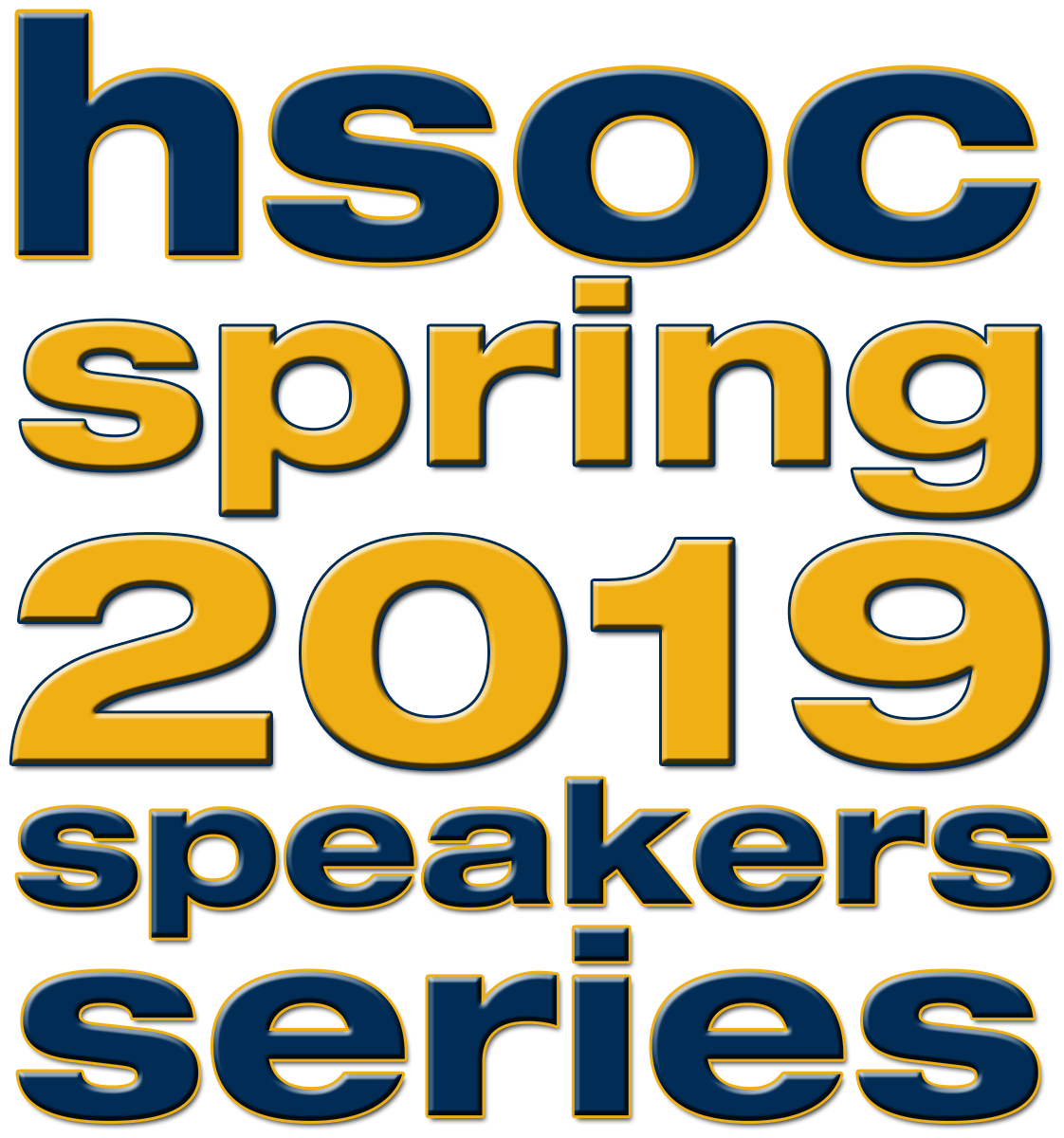 Logo for the spring 2019 School of History and Sociology speakers series